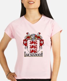 McMahon Coat of Arms Women's Sports T-Shirt