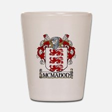 McMahon Coat of Arms Shot Glass