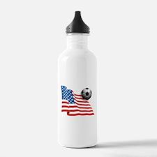 U.S. Soccer Flag Water Bottle