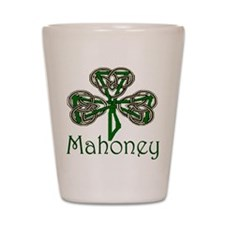 Mahoney Shamrock Shot Glass