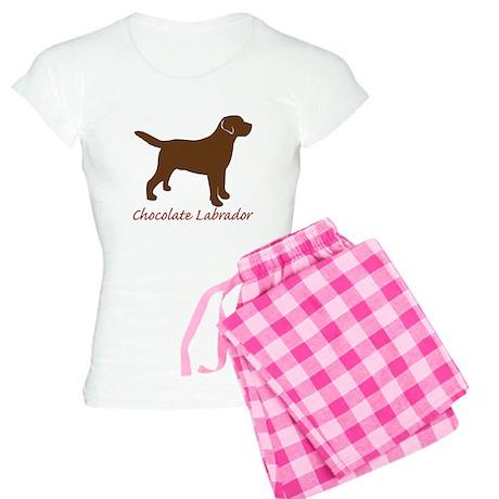Chocolate Labrador Women's Light Pajamas