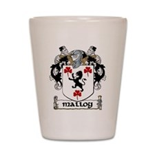 Malloy Coat of Arms Shot Glass