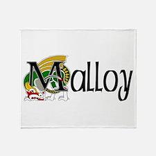Malloy Celtic Dragon Throw Blanket