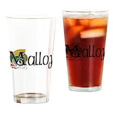 Malloy Celtic Dragon Pint Glass