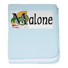 Malone Celtic Dragon baby blanket