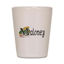 Maloney Celtic Dragon Shot Glass