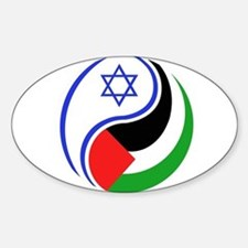 Cute Middle east Sticker (Oval)