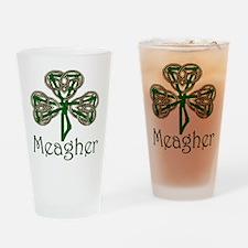 Meagher Shamrock Pint Glass