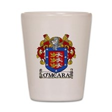 O'Meara Coat of Arms Shot Glass