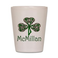 McMillan Shamrock Shot Glass