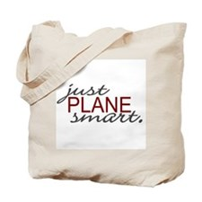 Just Plane Smart 2 Tote Bag