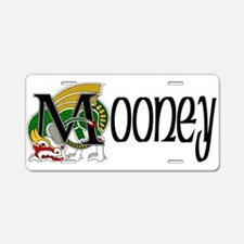 Mooney Celtic Dragon Aluminum License Plate
