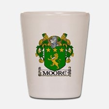 Moore Coat of Arms Shot Glass
