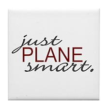 Just Plane Smart 2 Tile Coaster