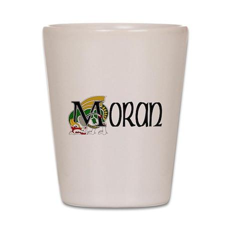 Moran Celtic Dragon Shot Glass