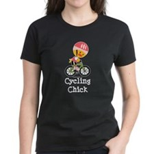 Cycling Chick Tee