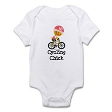Cycling Chick Infant Bodysuit