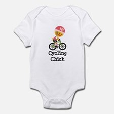 Cycling Chick Onesie