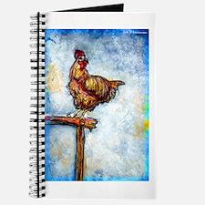 Chicken, colorful, art, Journal