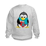 Penguin cancer Crew Neck