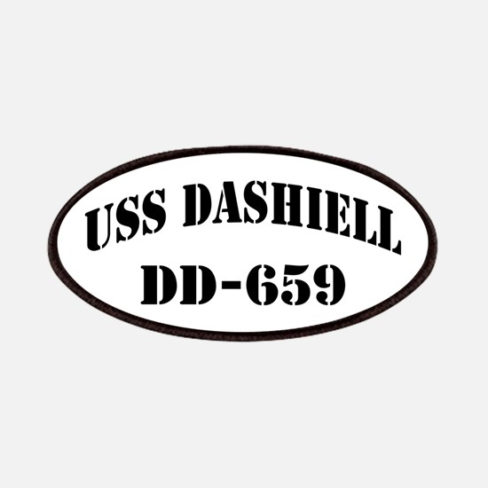 USS DASHIELL Patches