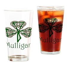 Mulligan Shamrock Pint Glass