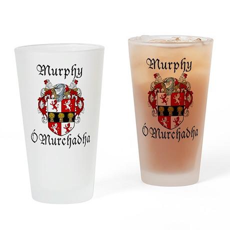 Murphy In Irish & English Pint Glass