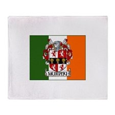 Murphy Arms Tricolour Throw Blanket