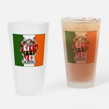 Murphy Arms Tricolour Pint Glass