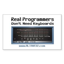 Real Programmers Don't Need K Sticker (Rectangular