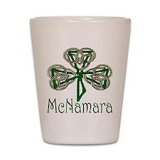 McNamara Shamrock Shot Glass