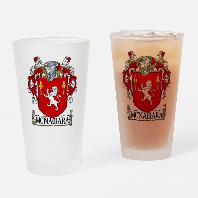 McNamara Coat of Arms Pint Glass