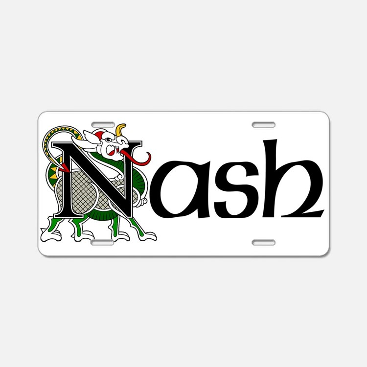 Nash Celtic Dragon Aluminum License Plate