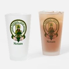 Nolan Clan Motto Pint Glass