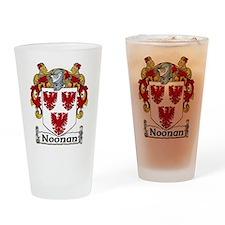 Noonan Coat of Arms Pint Glass