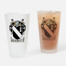 Plunkett Coat of Arms Pint Glass
