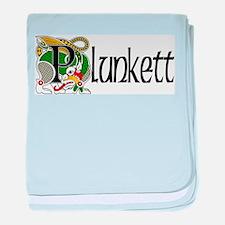 Plunkett Celtic Dragon baby blanket
