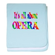 About Opera baby blanket