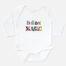 About Magic Long Sleeve Infant Bodysuit
