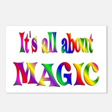 About Magic Postcards (Package of 8)