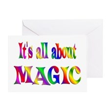 About Magic Greeting Card