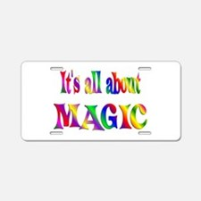 About Magic Aluminum License Plate