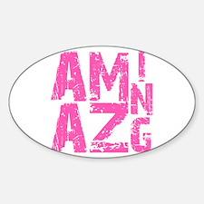 Amazing Sticker (Oval)