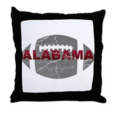 Alabama Football Throw Pillow