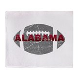 Alabama crimson tide Fleece Blankets