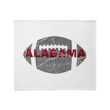 Alabama crimson tide Fleece Blankets