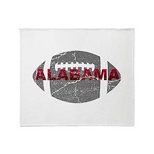 Alabama Football Throw Blanket