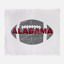 Alabama Football Throw Blanket