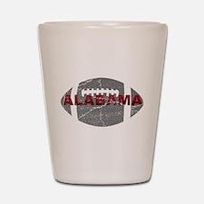 Alabama Football Shot Glass