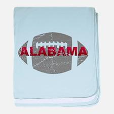 Alabama Football baby blanket